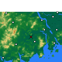 Nearby Forecast Locations - Kaiping - карта