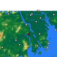 Nearby Forecast Locations - Xinhui - карта