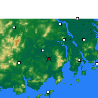 Nearby Forecast Locations - Taishan - карта