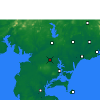 Nearby Forecast Locations - Suixi/GUD - карта