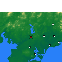 Nearby Forecast Locations - Lianjiang - карта