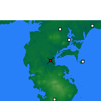 Nearby Forecast Locations - Haikang - карта