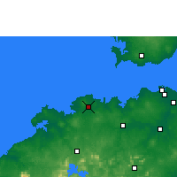 Nearby Forecast Locations - Lingao - карта