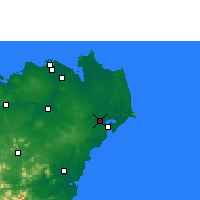Nearby Forecast Locations - Вэньчан - карта