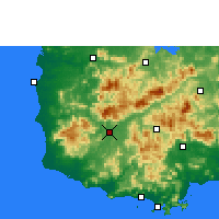 Nearby Forecast Locations - Ledong - карта