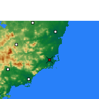 Nearby Forecast Locations - Wanning - карта