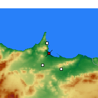 Nearby Forecast Locations - Al Aaroui - карта