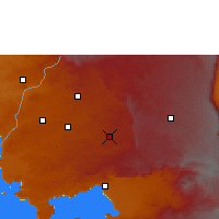 Nearby Forecast Locations - Какамега - карта