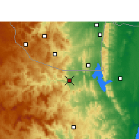 Nearby Forecast Locations - Pongola - карта