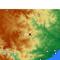 Nearby Forecast Locations - Улунди - карта