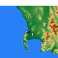 Nearby Forecast Locations - Milnerton - карта