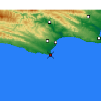 Nearby Forecast Locations - St Francis Bay - карта