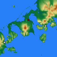 Nearby Forecast Locations - Колд-Бей - карта