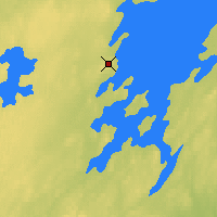 Nearby Forecast Locations - Collins Bay - карта