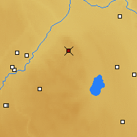 Nearby Forecast Locations - Elk Island - карта