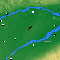 Nearby Forecast Locations - Beaver Mines - карта