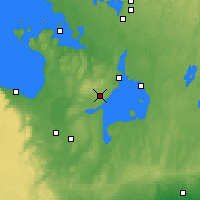 Nearby Forecast Locations - Barrie-Oro - карта