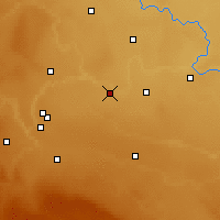 Nearby Forecast Locations - Barnwell - карта