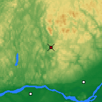 Nearby Forecast Locations - St Jovite - карта