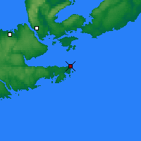 Nearby Forecast Locations - Hart Island - карта