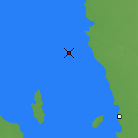 Nearby Forecast Locations - George Island - карта