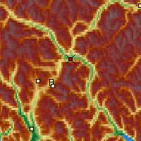 Nearby Forecast Locations - Pemberton - карта