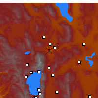 Nearby Forecast Locations - Рино - карта