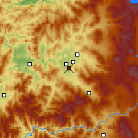 Nearby Forecast Locations - Медфорд - карта