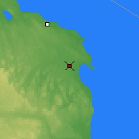 Nearby Forecast Locations - Alpena - карта