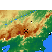 Nearby Forecast Locations - Нова-Фрибургу - карта