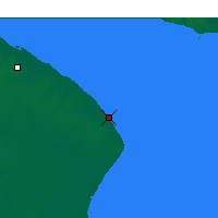 Nearby Forecast Locations - Punta Indio - карта
