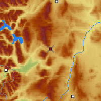 Nearby Forecast Locations - Esquel - карта