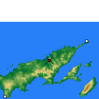 Nearby Forecast Locations - Labasa - карта