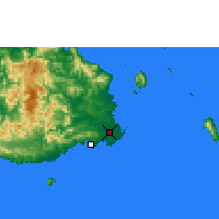 Nearby Forecast Locations - Nausori - карта
