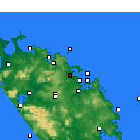 Nearby Forecast Locations - Kerikeri - карта