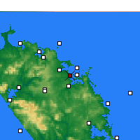 Nearby Forecast Locations - Paihia - карта