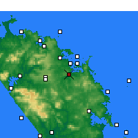 Nearby Forecast Locations - Kawakawa - карта