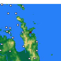 Nearby Forecast Locations - Whitianga - карта