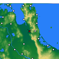Nearby Forecast Locations - Paeroa - карта