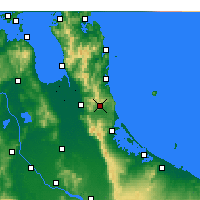 Nearby Forecast Locations - Waihi - карта