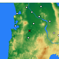 Nearby Forecast Locations - Otorohanga - карта