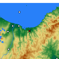 Nearby Forecast Locations - Opotiki - карта