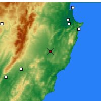 Nearby Forecast Locations - Waipukurau - карта