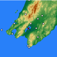 Nearby Forecast Locations - Lake Wairarapa - карта