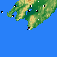 Nearby Forecast Locations - Ngawi - карта