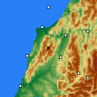 Nearby Forecast Locations - Nelson Lak. NP - карта