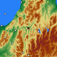 Nearby Forecast Locations - Murchison - карта
