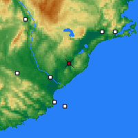 Nearby Forecast Locations - Milton - карта