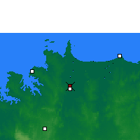Nearby Forecast Locations - Middle Pt Res. - карта