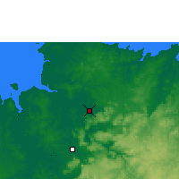 Nearby Forecast Locations - Gunbalanya - карта